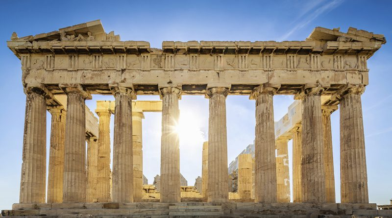 cradles of European civilization. Athens Greece, parthenon